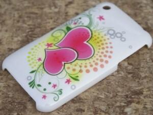 Накладка Hearts для iPhone 3G/S