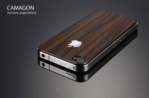 Наклейка SGP Skin Guard Wood Camagon для iPhone 4/4S
