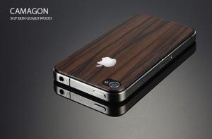 Наклейка SGP Skin Guard Wood Camagon для iPhone 4/4S
