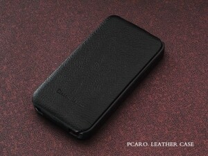 PCARO Baron Classic Leather Flip Case для iPhone 4/4s