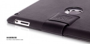 HOCO Real Leather Bracket Case для iPad 4/3
