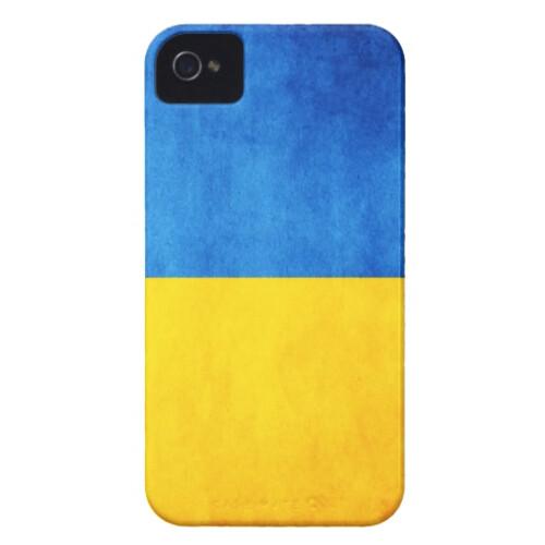 Чехол Bart Maidan с флагом Украины для iPhone 4/4S