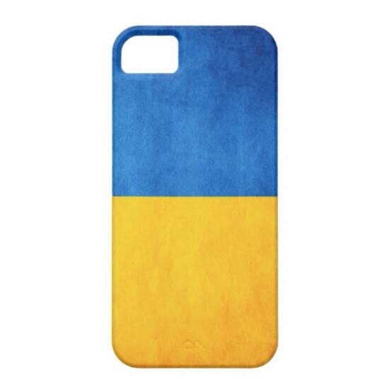 Чехол Bart Maidan с флагом Украины для iPhone 5/5S/SE
