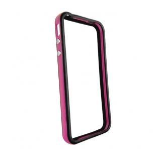 Купить Двухцветный бампер iLoungeMax Apple для iPhone 4 | 4S Фиолетовый | черный