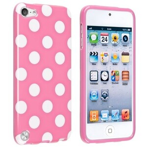 Купить Чехол Polka Dots Pink для iPod Touch 4