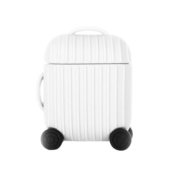 Чехол iLoungeMax Cute Suit Сase White для AirPods 1   2