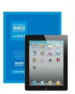 SGP Incredible Shield Ultra Coat для iPad 3