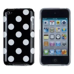 Купить Чехол Polka Dots Black для iPod Touch 4