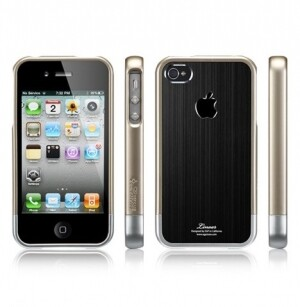 "SGP Linear ""Blitz"" series Black для iPhone 4/4s/CDMA"