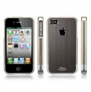 """Купить SGP Linear """"Blitz"""" series Gunmetal для iPhone 4/4s/CDMA"""