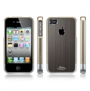 "SGP Linear ""Blitz"" series Gunmetal для iPhone 4/4s/CDMA"