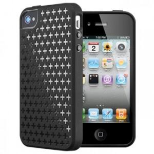 SGP Modello Series Soul Black для iPhone 4/4S