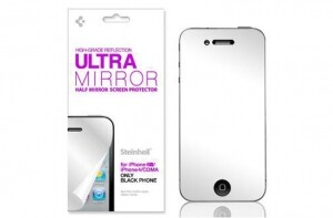 SGP Steinheil зеркальная Ultra Mirror только для черных iPhone 4/4s