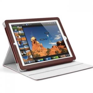 SGP Folio S Series Dark Brown для iPad 4/3