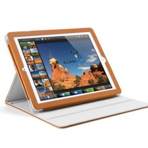 SGP Folio S Series Middle Brown для iPad 4/3