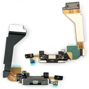 Купить Шлейф с коннектором зарядки для iPhone 4G