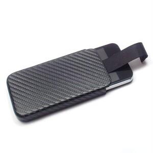 Купить Кожаный карбоновый чехол Deluxe Sleeve для iPhone 4/4S