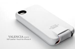 SGP Valencia Swarovski White для iPhone 4/4S