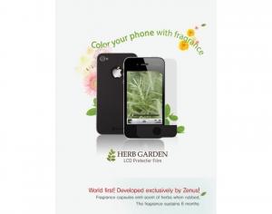 ZENUS 'Herb Garden' Series с ароматом перечной мяты для iPhone 4/4S