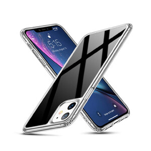Купить Стеклянный чехол ESR Ice Shield Black для iPhone 11