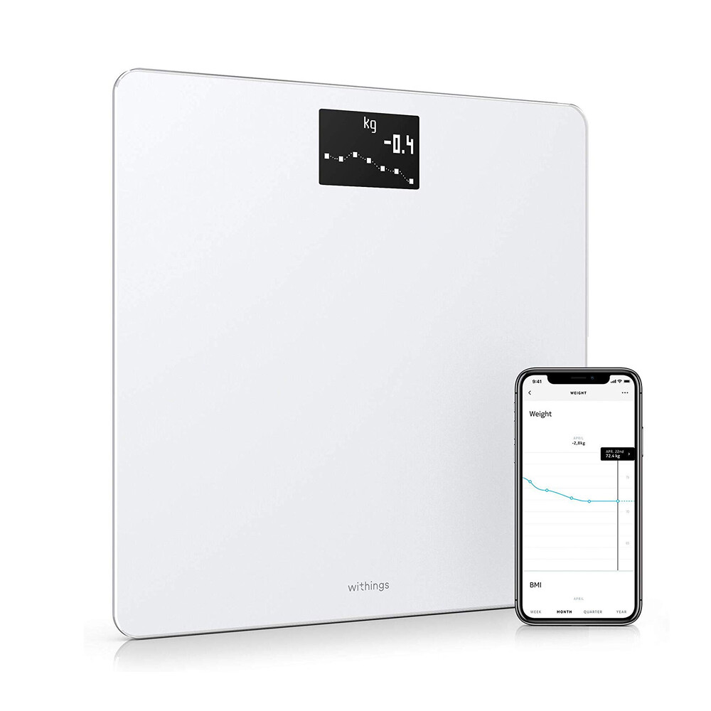Купить Умные весы Nokia (Withings) Body BMI Wi-Fi Scale White
