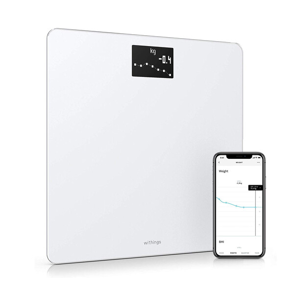 Умные весы Nokia (Withings) Body BMI Wi-Fi Scale White