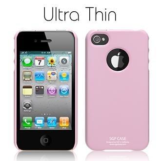 SGP Ultra Thin Pastel Series Sherbet Pink для iPhone 4
