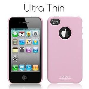 Купить SGP Ultra Thin Pastel Series Sherbet Pink для iPhone 4