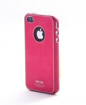 SGP Ultra Thin Pastel Dante Red для iPhone 4
