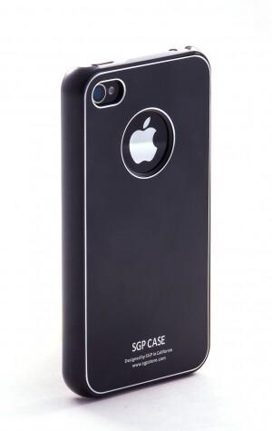 SGP Ultra Thin Pastel Soul Black для iPhone 4