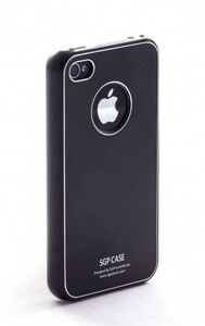 Купить SGP Ultra Thin Pastel Soul Black для iPhone 4