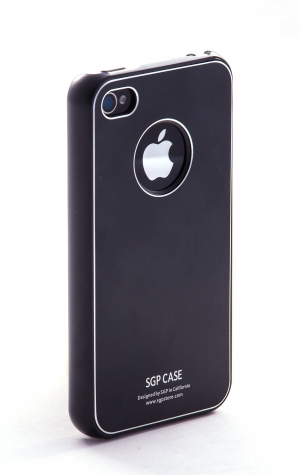 SGP Ultra Thin Pastel Soul Black для iPhone 4