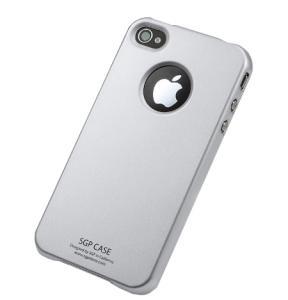 SGP Ultra Thin Pastel Series Silver для iPhone 4