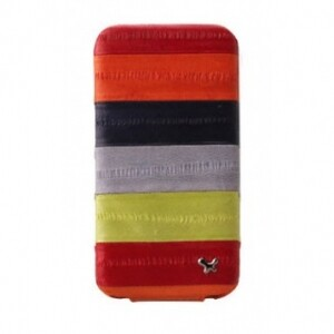 ZENUS Prestige Eel Series Folder Series - Multi Red для iPhone 4/4S