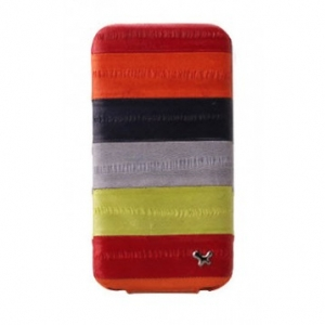 Купить ZENUS Prestige Eel Series Folder Series - Multi Red для iPhone 4/4S