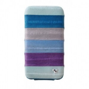 ZENUS Prestige Eel Series Folder Series - Multi Blue для iPhone 4/4S