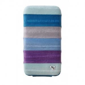 ZENUS Prestige Eel Series Folder Series - Multi Blue для iPhone 4/4S
