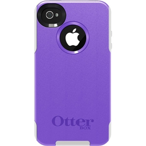 Купить Otterbox Commuter Series Purple 10 Plastic / White Silicone для iPhone 4/4S