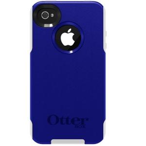 Otterbox Commuter Series Zircon Blue Plastic / White Silicone для iPhone 4/4S