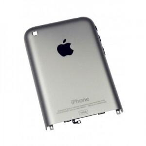 Задняя панель корпуса для Apple iPhone 2G silver