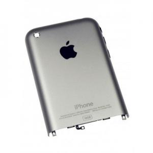 Купить Задняя панель корпуса для Apple iPhone 2G silver