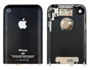Задняя панель корпуса для Apple iPhone 2G black