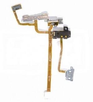 Шлейф коннектора наушников, боковых клавиш для iPhone 2G