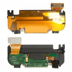 Шлейф коннектора зарядки, антенны, с компонентами, полный комплект, со звонком для Apple iPhone 3G