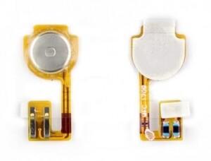 Шлейф кнопки меню, с компонентами для Apple iPhone 3GS