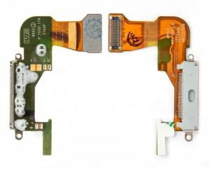 Купить Шлейф коннектора зарядки, с компонентами для Apple iPhone 3GS