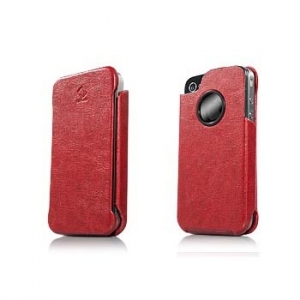 CAPDASE Capparel Protective Case Forme Red/Black для iPhone 4/4S