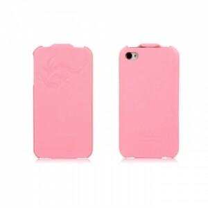HOCO Earl Fashion Flip Pink для iPhone 4/4S