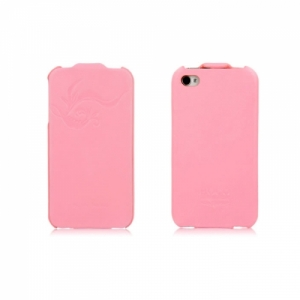 Купить HOCO Earl Fashion Flip Pink для iPhone 4/4S