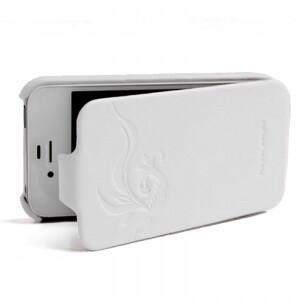 HOCO Earl Fashion Flip White для iPhone 4/4S